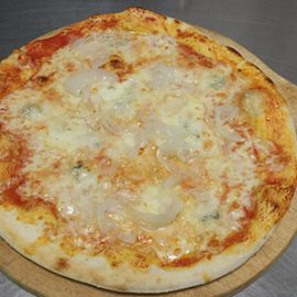 Pizza Gorgonzola e Cipolle