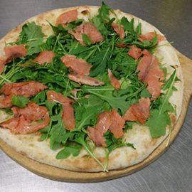 Pizza Salmone e Rucola